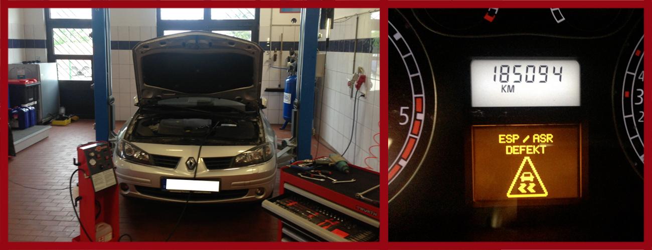 Asr esp fault | Peugeot ESP ASR System Fault ABS Braking Fault